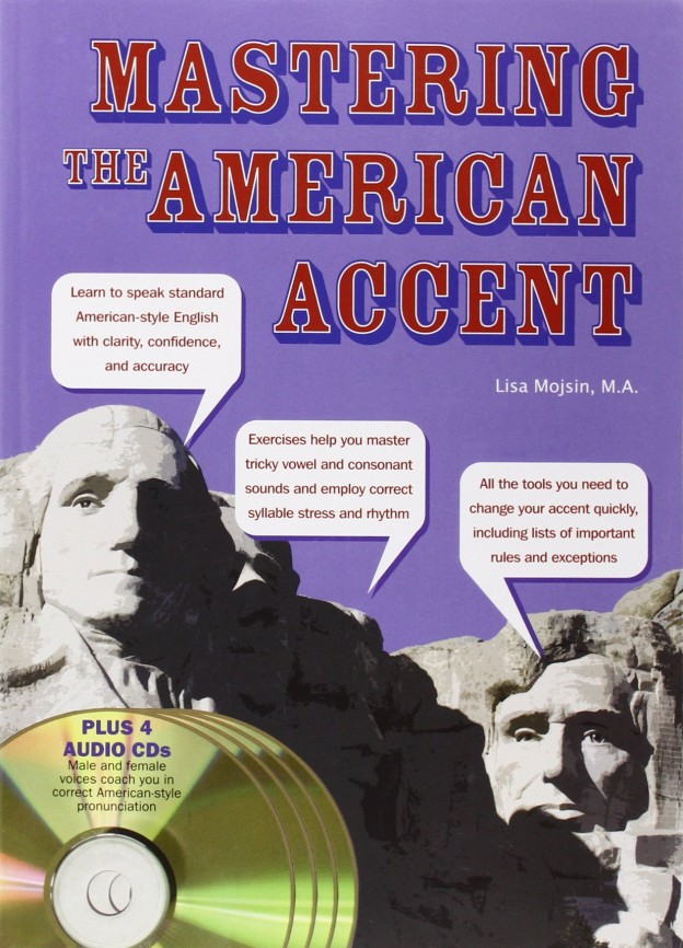 MASTERING THE AMERICAN ACCENTテキスト表紙